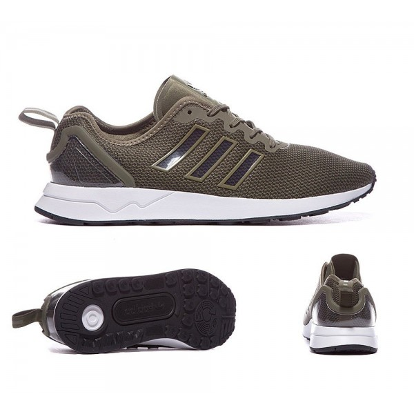 Adidas Originals ZX Flux ADV Trainer Olive Sale