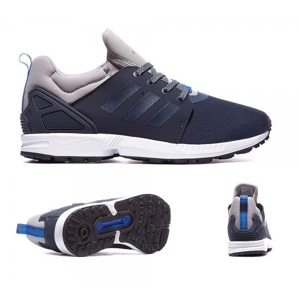 Adidas Originals ZX Flux NPS Trainer Navy Billig