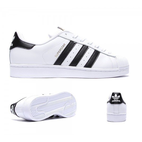 Adidas Originals Superstar Sneaker Weiß und Core ...