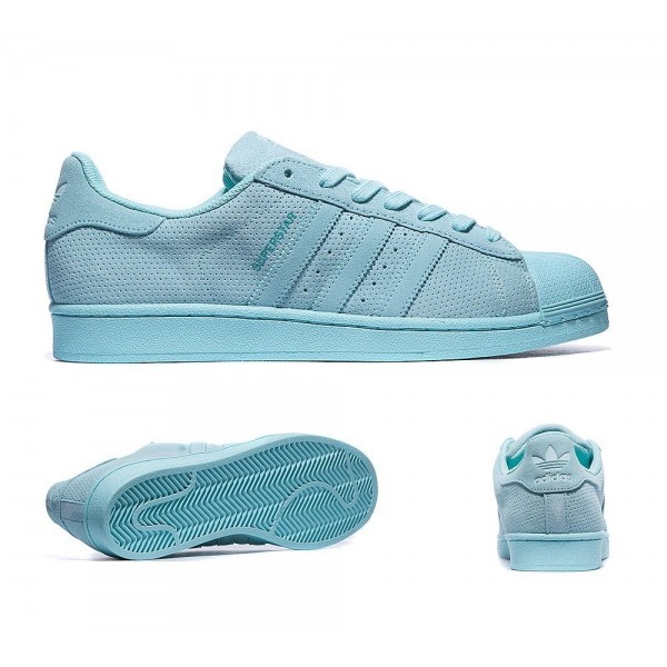 Adidas Originals Superstar Mono Trainers Klar Aqua Spezialangebot