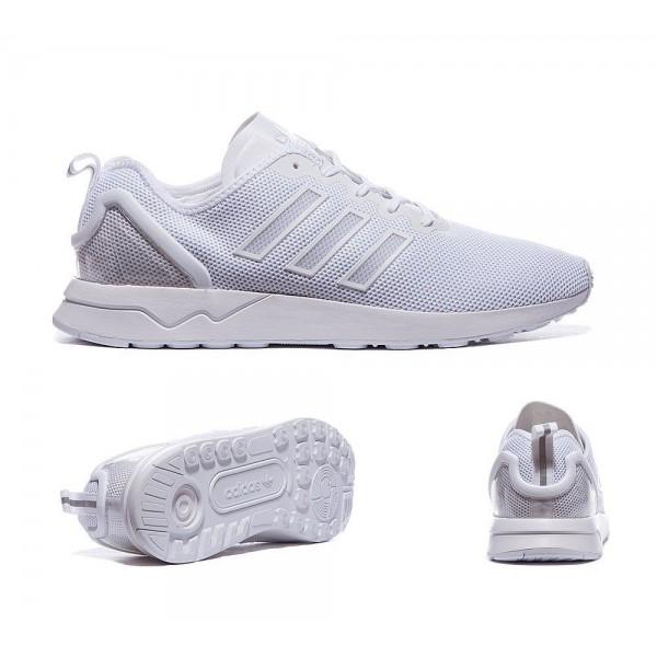 Adidas Originals ZX Flux ADV Sneaker Weiß Billig kaufen