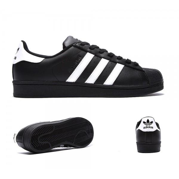 Adidas Originals Superstar-Trainer Schwarzweiss Billig kaufen