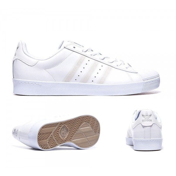 Adidas Originals Superstar Vulcanised Sneaker Wei�...