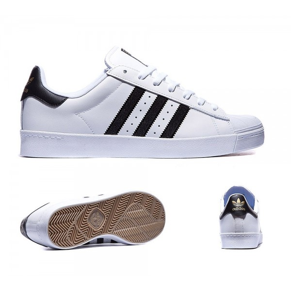 Adidas Originals Superstar Vulcanised ADV Trainer ...